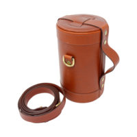 Chestnut Leather Triple Bar Set