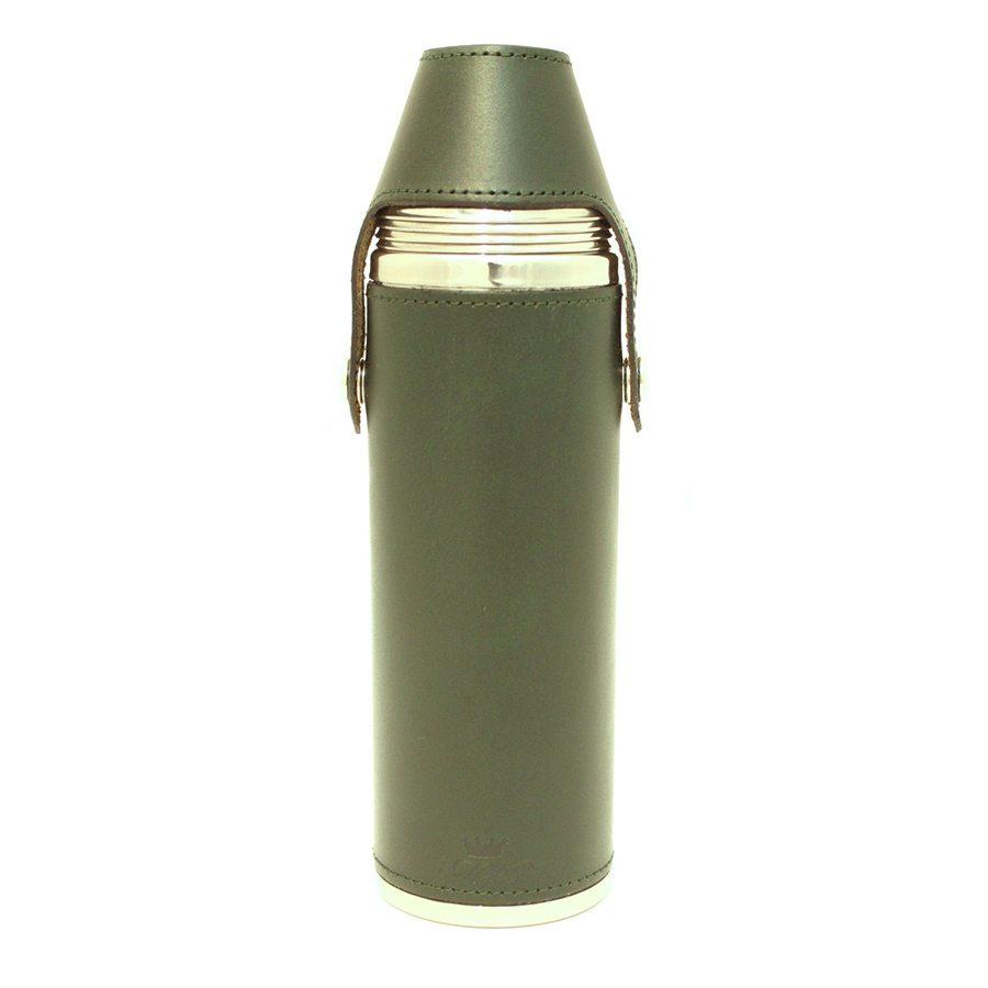 10oz Hunter Flask Green - Marlborough of England 1eb957e13