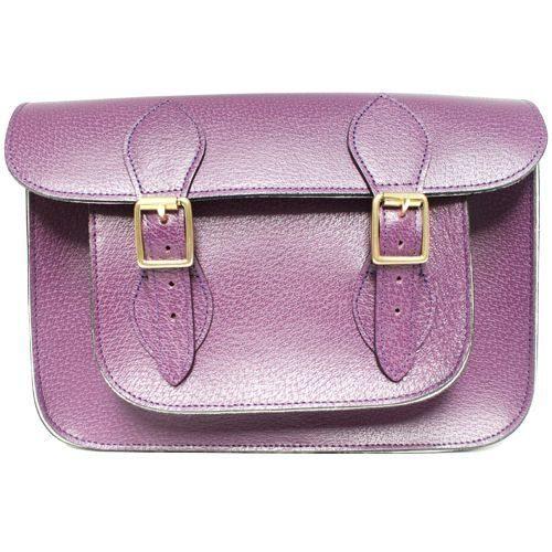 15 inch Purple Pastel Satchel