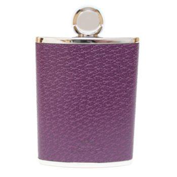 3oz-leather-purple-ladies-hip-flask