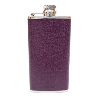 4oz-ladies-leather-purple-hip-flask