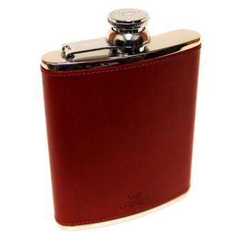 6oz-leather-hip-flask-chesnut