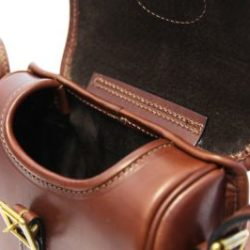 Brand New Genuine Leather Cartridge Bag for Hunting//Outdoor Trips Can hold 60+