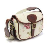 Small Rose Patterned  Shoulder Bag