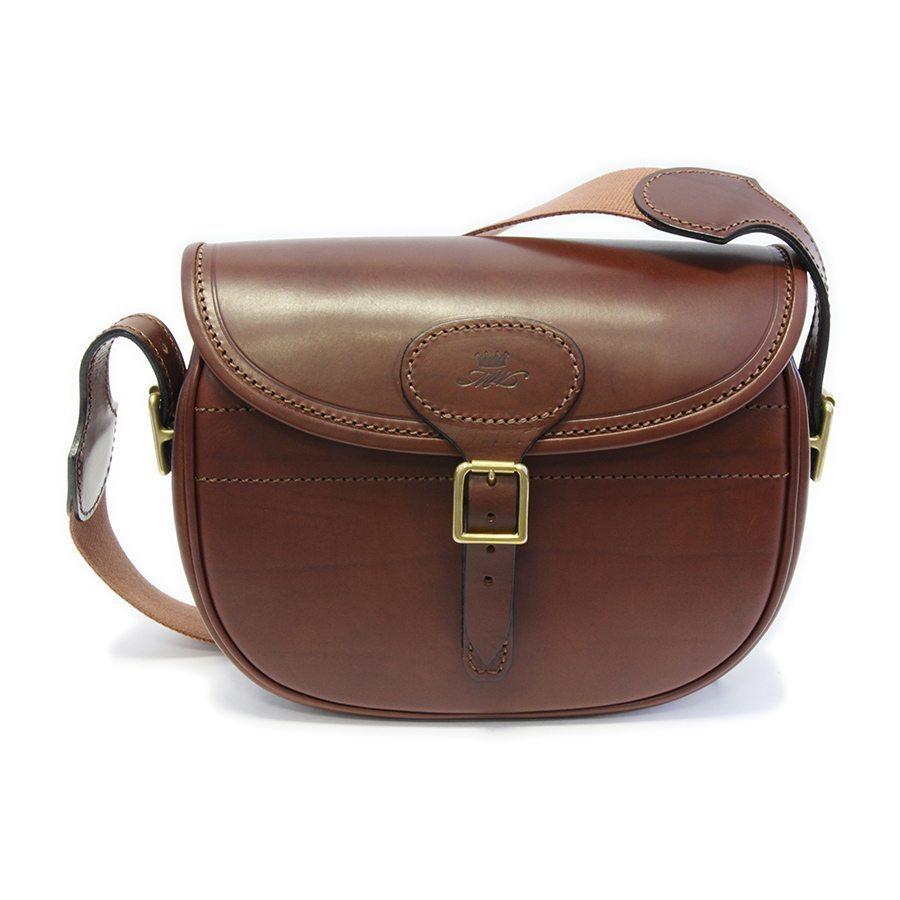 Leather Cartridge Bag Large - Marlborough of England
