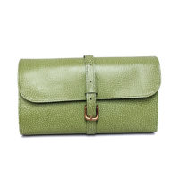Military Wet pack Lime Green Leather