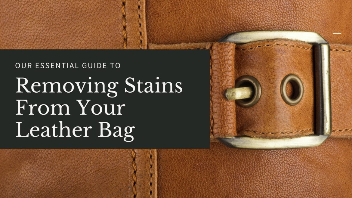 how to get water stains out of tan leather