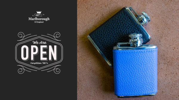 Competition to win a 2.5oz Stainless Steel Hipflask.